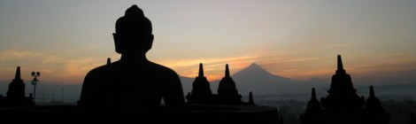 Zonsopgang in de Borobodur: volgens CNN één van de must-sees in het leven