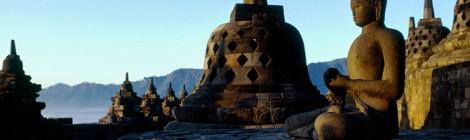 De Borobodur tempel opgenomen in het Guinness Book of Records