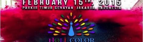 Holi Color Festival – 15 februari 2015