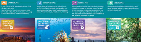 Ontdek Indonesië met de Wonderful Indonesia Travel Pass van Garuda Indonesia