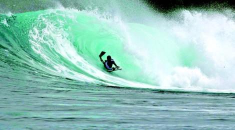 Spectaculair surfen